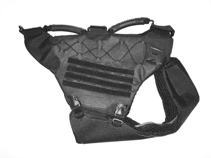 Titan Vest - Level IIIA K-9 Body Armor K-9 221B Tactical Full set with armor Black M