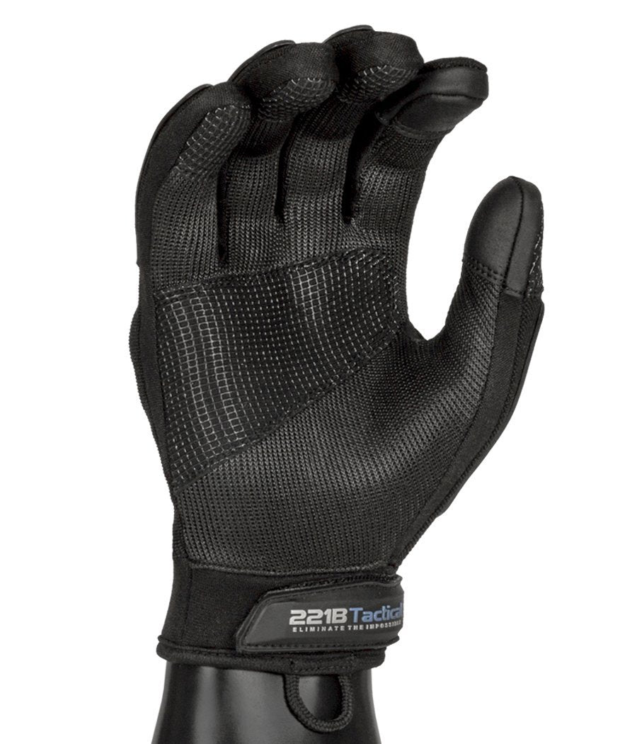 Commander Gloves - Hard Knuckles Protection, Full Dexterity, Level 5 Cut Resistant 221B Tactical