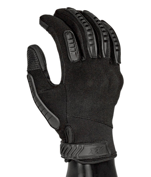 Commander Gloves - Hard Knuckles Protection, Full Dexterity, Level 5 Cut Resistant Gloves 221B Tactical Black XS