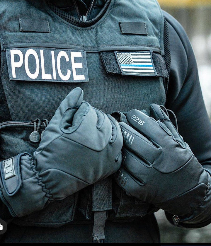 Equinoxx Patrol Gloves - Thermal, Water-Resistant & Touch Screen Gloves 221B Tactical