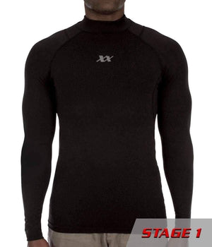 Equinoxx Stage 1 - Compression Mock Apparel 221B Tactical L Black 1-pack