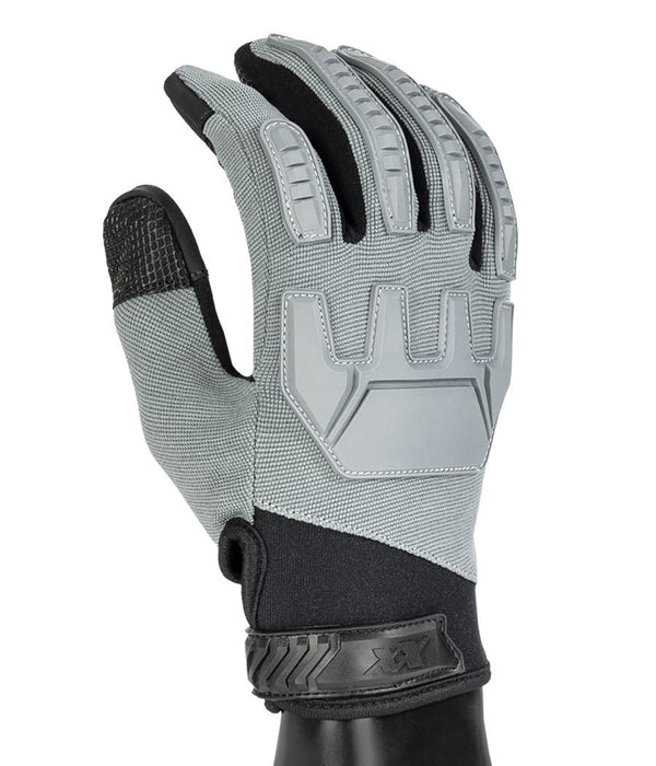 Gladiator Gloves - Full Dexterity Tactical Gloves - Level 5 cut resistant - Shooting and Search Gloves 221B Tactical Grey XS