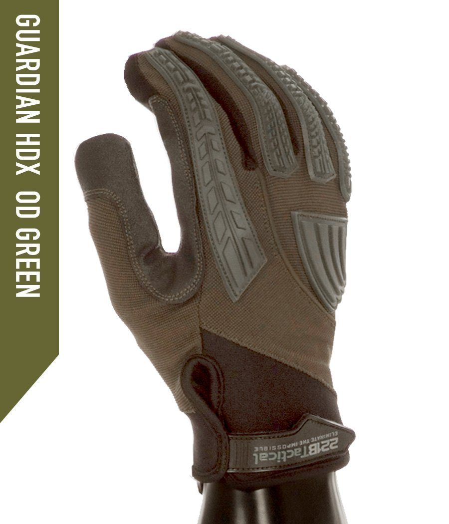 Guardian Gloves HDX - Level 5 Cut Resistant + Gloves 221B Resources LLC XS OD Green