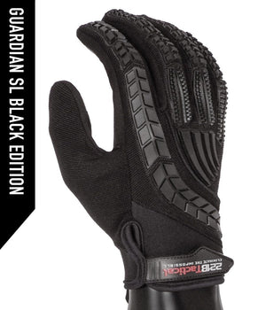 Guardian Gloves SL Gloves 221B Tactical XS Black Regular Grip