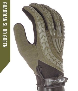 Guardian Gloves SL Gloves 221B Tactical XS OD Green Regular Grip