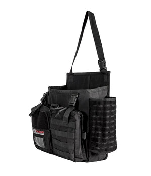 Harlej Car Seat Organizer Bag - Police Patrol Vehicle, Contractor Truck, Mobile Office Bags and Packs 221B Tactical