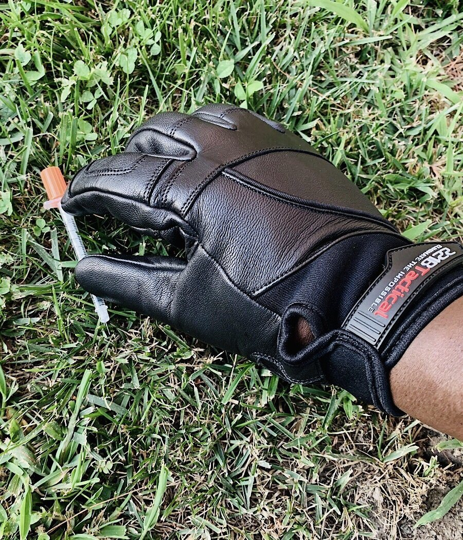 Hero Gloves 2.0 -Needle & Cut Resistant Gloves 221B Tactical