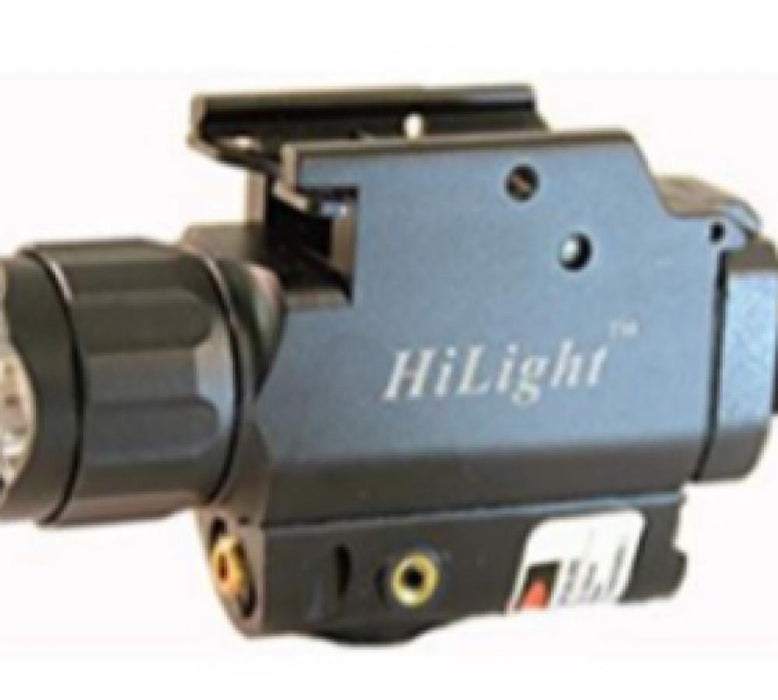 HiLight HL-P10C Compact Pistol Red Laser/500 LM Light lights HiLight Tactical