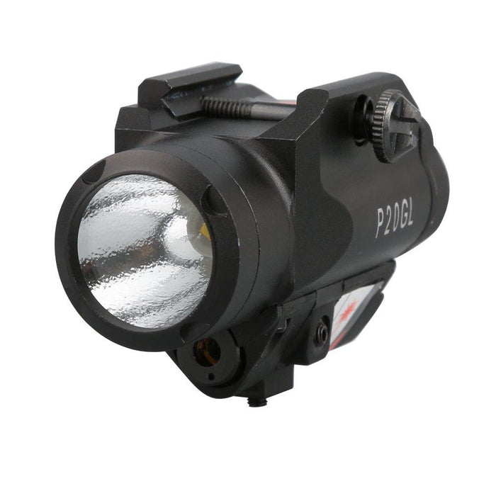 HiLight HL-P20GL - Green Laser 500 Lm Light with Strobe Accessories HiLight Tactical