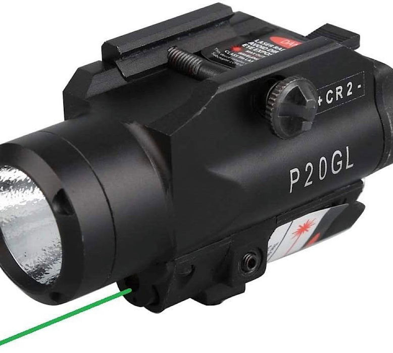 HiLight HL-P20GL - Green Laser 500 Lm Light with Strobe lights HiLight Tactical