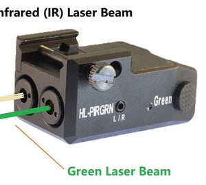 HiLight HL-PIRGRN Compact Green Laser and IR Red Laser Sight lights HiLight Tactical