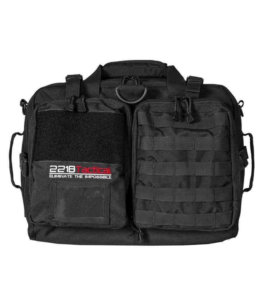 "Hondo Police Patrol Bag + Level IIIA Armor Panel Insert 11"" x 14"" bundle 221B Tactical"