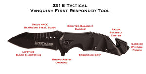 Vanquish First Responder (FRX) Tool Accessories 221B Tactical