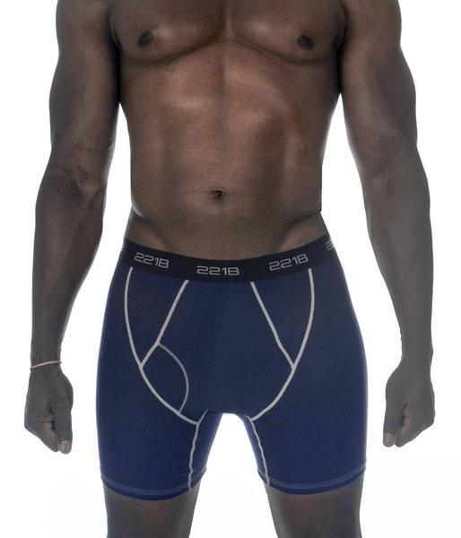 Maxx-Dri RFX Boxer Briefs 3-Pack Saver Promo 221B Tactical S Navy/Silver