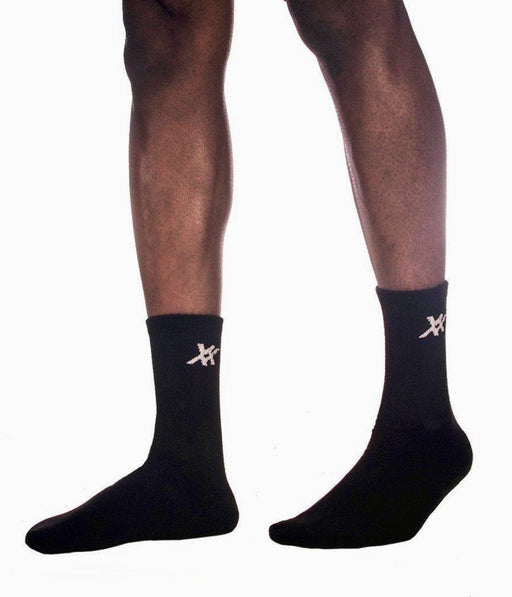 "Maxx-Dri Silver Elite 9"" Crew Socks Socks 221B Resources LLC"