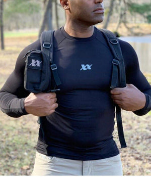 Maxx-Dri Silver Elite Long Sleeve Shirt 3-Pack Saver Apparel 221B Tactical
