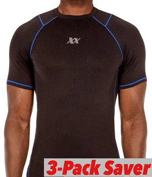 Maxx-Dri Silver Elite T-Shirt 3-Pack Saver Promo 221B Tactical