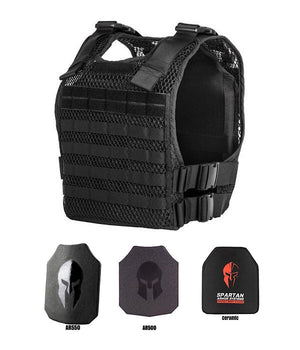 Phantom Plate Carrier Vest with Body Armor armor 221B Resources LLC