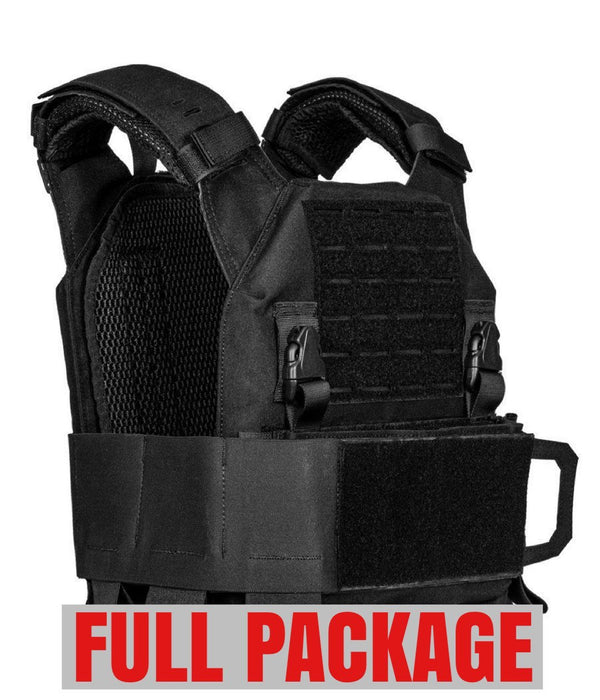 QRF Plate Carrier Full Package with Armor Plates Plate carrier 221B Tactical