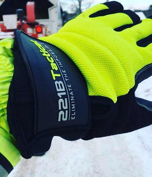 Reflective Equinoxx Gloves 2.0 - Thermal, Water & Wind Resistant Gloves 221B Tactical