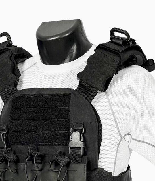Shadow Plate Carrier Full Package with Legacy Armor Plates Maxx-Dri Carrier 221B Tactical
