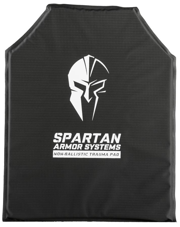 SPARTAN ARMOR NON-BALLISTIC TRAUMA PAD SHOOTER'S CUT SINGLE Armor 221B Tactical