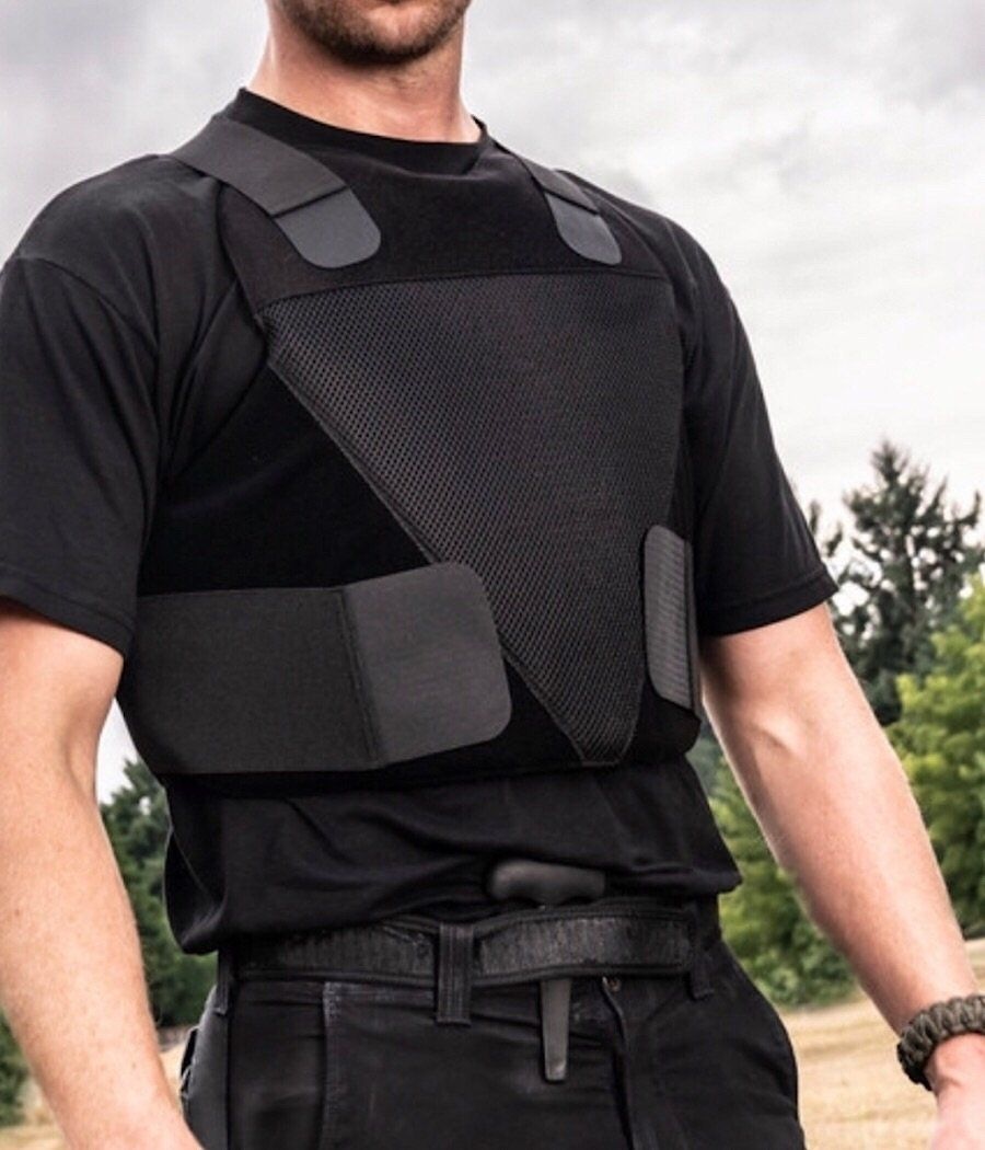 SPARTAN ARMOR SYSTEMS CONCEALABLE IIIA CERTIFIED WRAPAROUND VEST Body armor package 221B Tactical