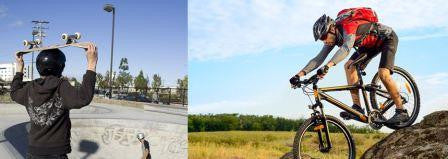 Bicycle Helmets and Skateboard Helmets: What's the Difference?