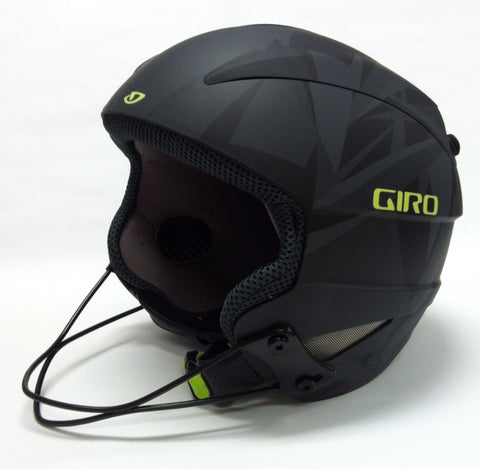 Giro Ski Racing Chin Bar attached to a Giro Talon Helmet