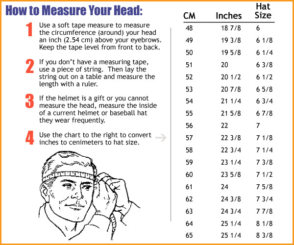 Helmet Sizing Guide - SportsProtective