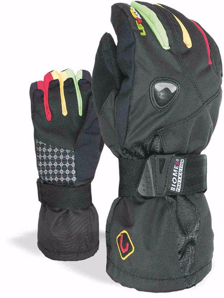 Level Fly Junior Protective Snowboard Gloves for Kids