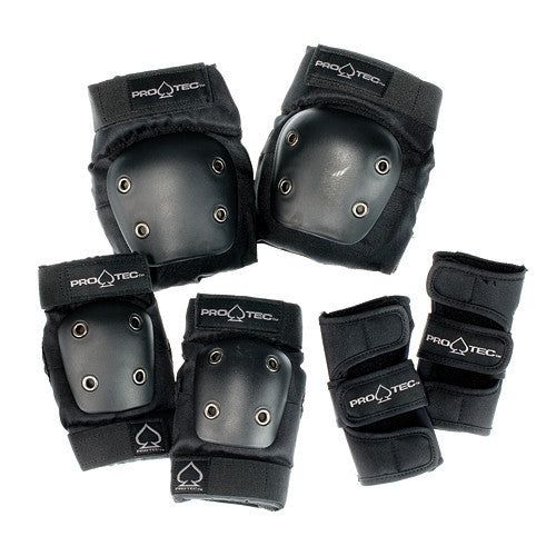 ProTec Street Youth Pads Combo Pack (Knees, Elbows, Wrists)