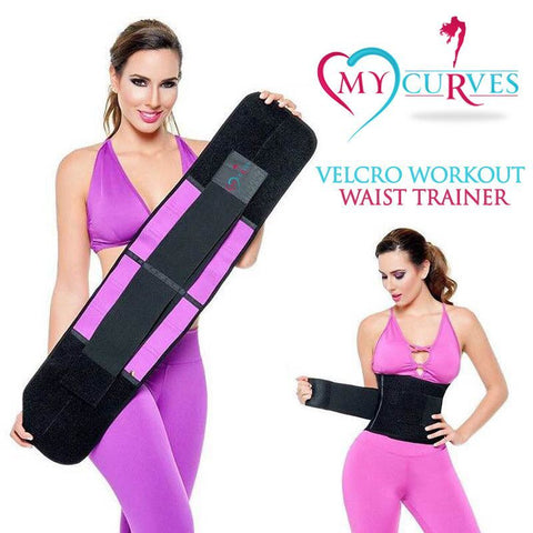 Velcro Workout Waist trainer - Heart My Curves - 1