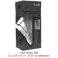 "2'x2.5' Gorilla Grow Tent SHORTY w/ 9"" Extension K"