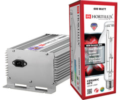 Hortilux Ceramic HPS 600 Lamp and Ballast Kit