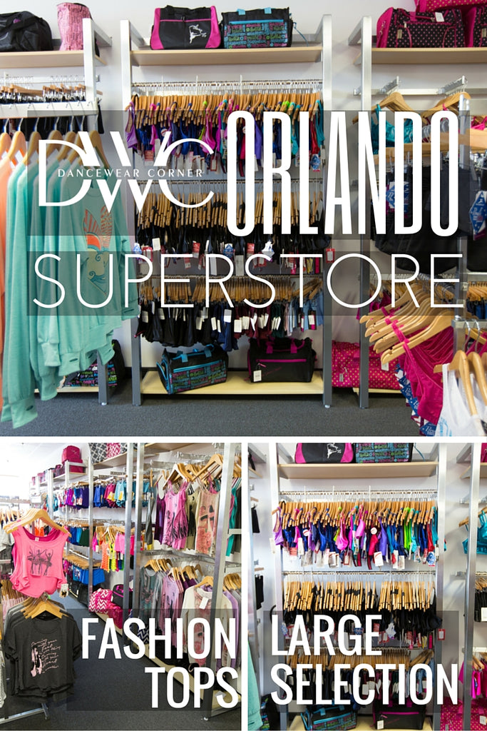 Dancewear Corner Orlando Superstore showroom