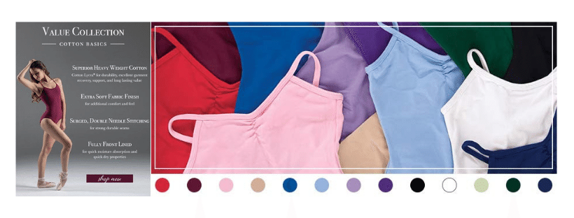 Dancewear Corner Value Collection