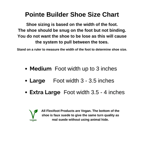 Pointe Pro Sizing