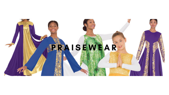 Praisewear at Dancewear Corner