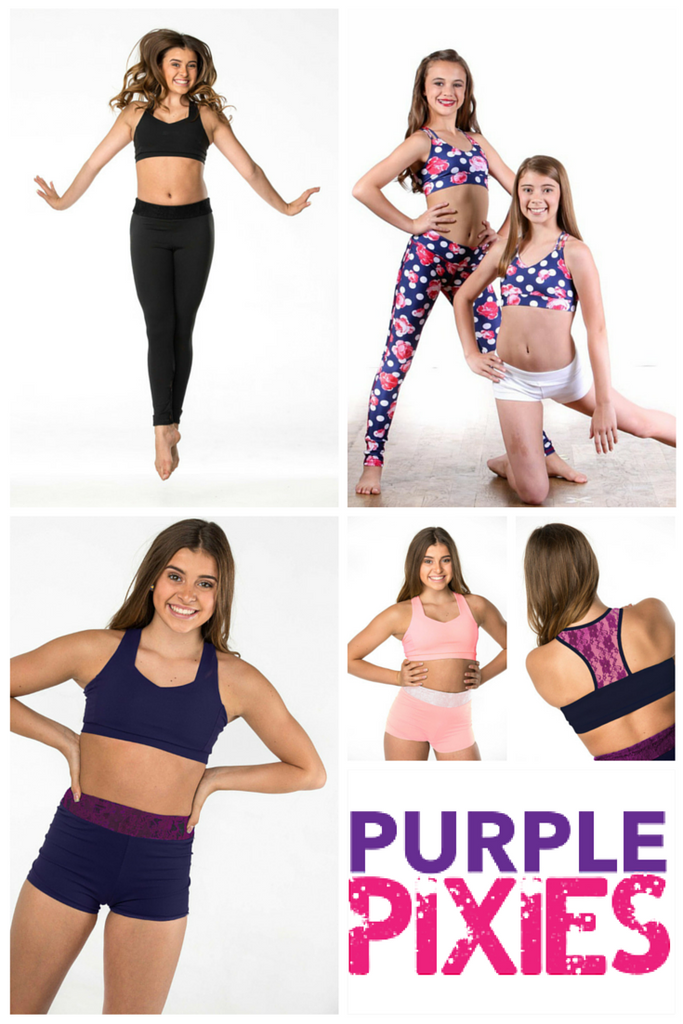 Purple Pixies at Dancewear Corner Superstore