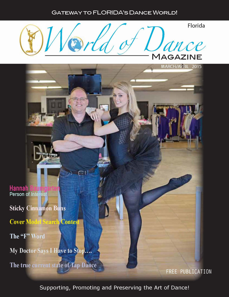 Dancewear Corner Cover Photo on World of Dance Magazine