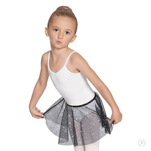 Eurotard 02283 Sequin Tulle Pull On Skirt - Child
