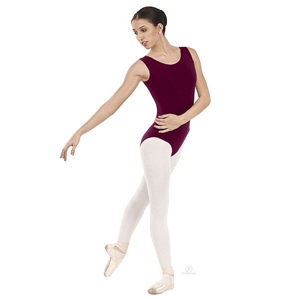 Eurotard 1002 Tank Top Leotard burgundy