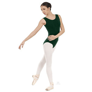 Eurotard 1002 Tank Top Leotard hunter