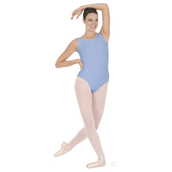 Eurotard 1002 Tank Top Leotard light blue