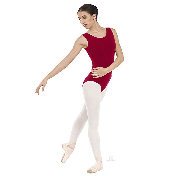 Eurotard 1002 Tank Top Leotard red