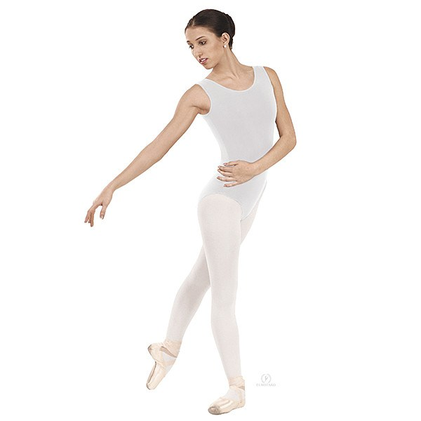 Eurotard 1002 Tank Top Leotard white
