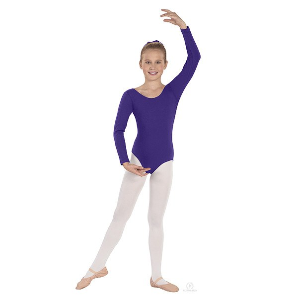 Eurotard 10408 Long Sleeve Leotard - Child