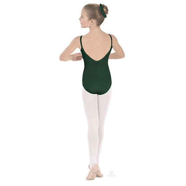 Eurotard 10527C Pinch-Front Camisole Leotard - Child hunter
