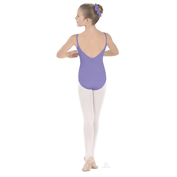 Eurotard 10527C Pinch-Front Camisole Leotard - Child lilac
